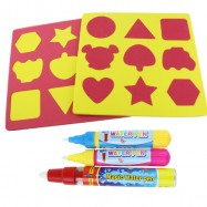 image of [Little B House] Magic Water Pen/Stamps Writing Painting for Aqua Doodle Drawing Toys Mat-BT36