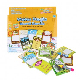 image of [Little B House] Water Magic Word Cards Alphabet Education Early Learning -BT37