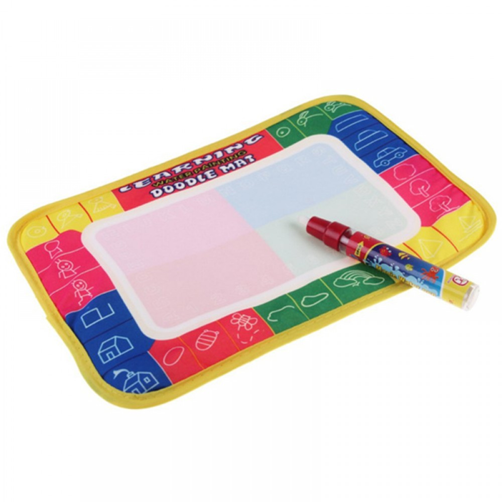 29X19cm Water Drawing Painting Writing Magic Pen Doodle Mat Toy Early Learning -BT36-S