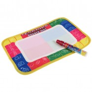 image of 29X19cm Water Drawing Painting Writing Magic Pen Doodle Mat Toy Early Learning -BT36-S