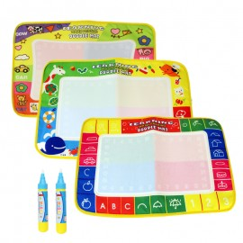 image of 29x45cm Water Drawing Painting Magic Pen Doodle Mat Toy Early Learning -BT36-M