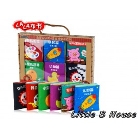 image of [Little B House] 6 Mini Cloth Books -BKM02