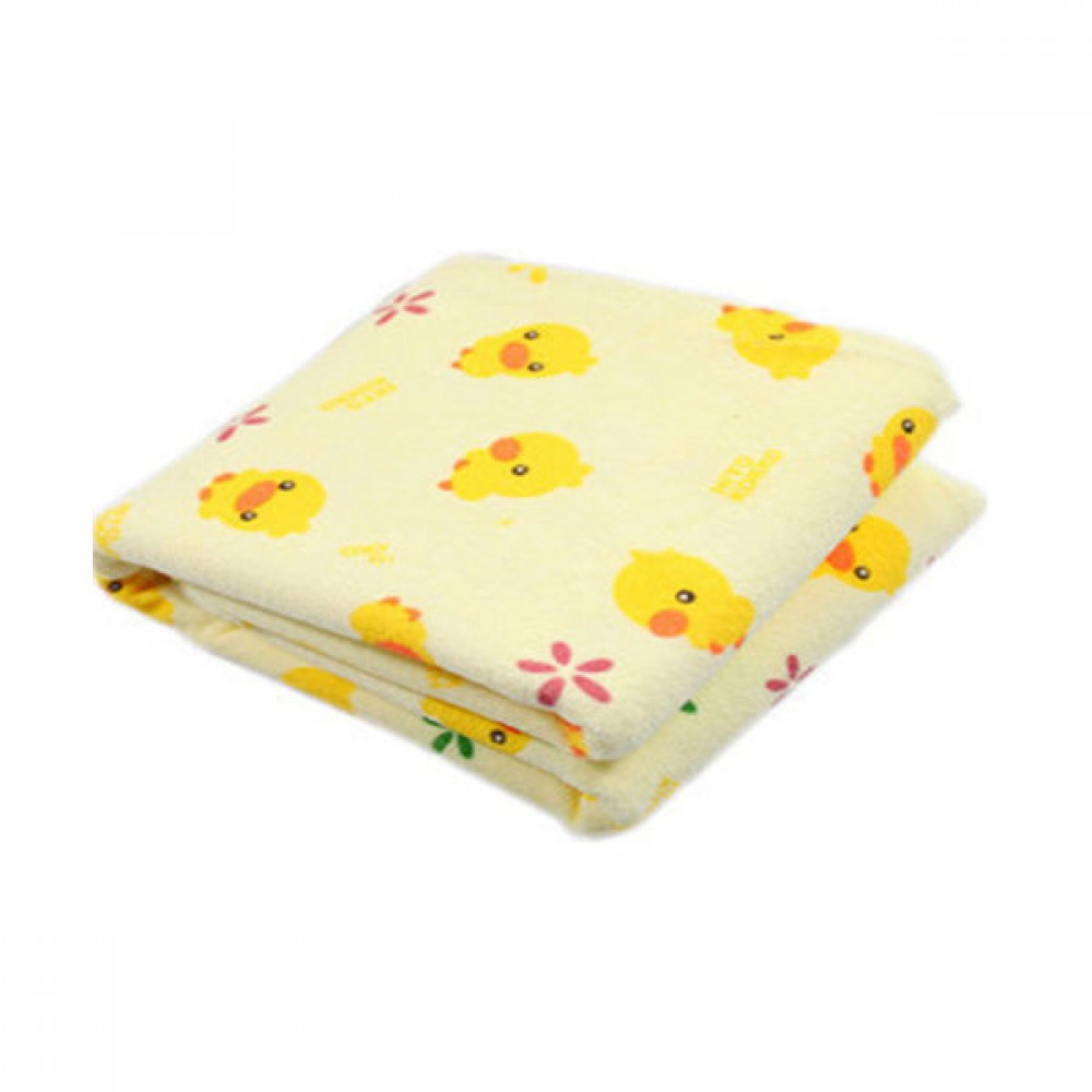 [Little B House] Baby Yellow Duckling Waterproof Washable Diaper Changing Mat Pad  -BKM09
