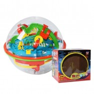 image of [Little B House] 3D Magic Maze Ball 100 Levels Large Intellectual UFO Maze Ball Early Childhood Educational Toys  - BT174