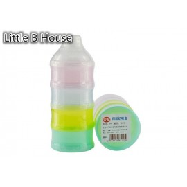 image of [Little B House] Portable Baby Feeding Milk Powder & Food Bottle Container 4 Cells Grid Box -BKM19