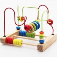 image of [Little B House] Early Childhood Education of Bead Stringing Building Blocks -BKM28