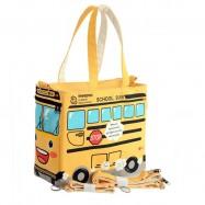 image of Yellow School Bus Series Cute Multifunction Mom's Tote Bag -MMB102