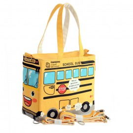 image of Yellow School Bus Series Cute Multifunction Mom's Tote Bag -MMB102