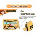 Yellow School Bus Series Cute Multifunction Mom's Handbook -MMB104