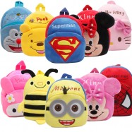 image of [Little B House] Toddler Kids Baby Cartoon Bag Backpack Double Strap -BAG03
