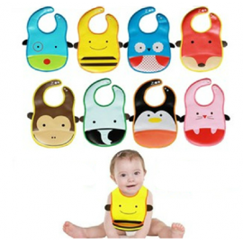 image of [Little B House] RM18.90 for 2 - PVC Baby Bib (Wipe-clean quality) -BB04