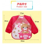[Little B House] Waterproof Anti-dressed long sleeve baby bibs -BB06