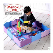 image of [Little B House] Meitoku Joint Crawling Foam Puzzle Play Mat -MAP01