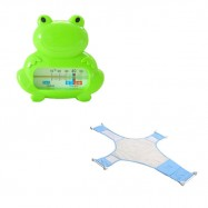 image of [Little B House] Baby Bath Thermometer Cum Baby Shower Net