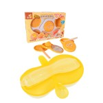 Japan Hito Multifunctional Baby Food Maker Set Cum New Peanut Shape Feeding Bowl With Spoon -CDH31200+BKM16