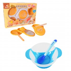 image of Japan Hito Multifunctional Baby Food Maker Set Cum Baby Food Supplement Temperature Sensor Sucker Bowl -CDH31200+BKM14