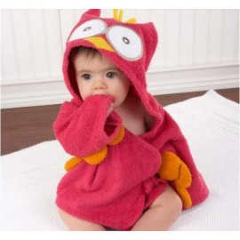 image of [Little B House] Cartoon Cotton Towel Bathrobes  -CCTB