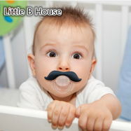 image of [Little B House] Mustachifier Mustache Pacifier -MZ-15