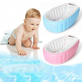 image of [Little B House] Inflatable Baby Bath Tub Portable Bathtub (Free Hand Pump) - BA01