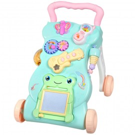 image of [Little B House] Multifunctional Learning to Walk and Stand Baby Stroller Walker with Music - BT134