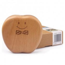 image of [Little B House] Wooden Children Baby Tooth Box Organizer Teeth Storage Case - BT166