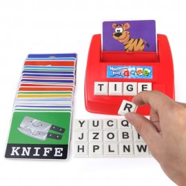 image of [Little B House] Matching Letter Literacy Fun Game Toy Set Kids Early Educational Learning Toy - BT176