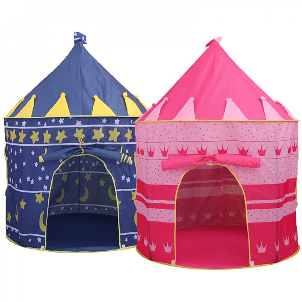 [Little B House] Castle Portable Folding Tent Children Play House Indoor Outdoor Tents - BS01