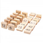 [Little B House] 99 Multiplication Table Montessori Maths Toys Wooden Learning Education Toys - BT207