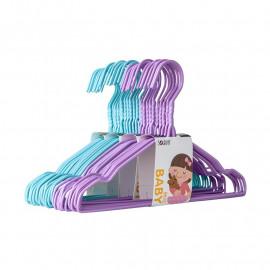 image of [Little B House] 10pcs Children Baby Metal Clothes Coat Hangers Hook - KF03