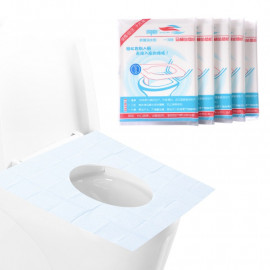 image of [Little B House] Disposable Toilet Seat Covers Waterproof Anti-Bacterial Toilet Mat - BA08