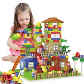 image of [Little B House] 239Pcs Big Size Building Blocks City Castle Model Building Toys - BT191-239pcs