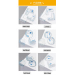 [Little B House] Baby Safety Table Corner Protector Transparent Anti-Collision- BS02