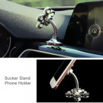[Little B House] Rotatable 360 Degree Portable Sucker Stand Magic Suction Cup Car Bracket Smartphone Holder -MagicSuctionCup