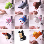 [Little B House] Cute Cartoon Silicone Kids Water Tap Faucet Extender For Kids Children - BA03