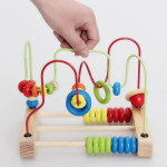 [Little B House] Early Childhood Education of Bead Stringing Building Blocks -BKM28