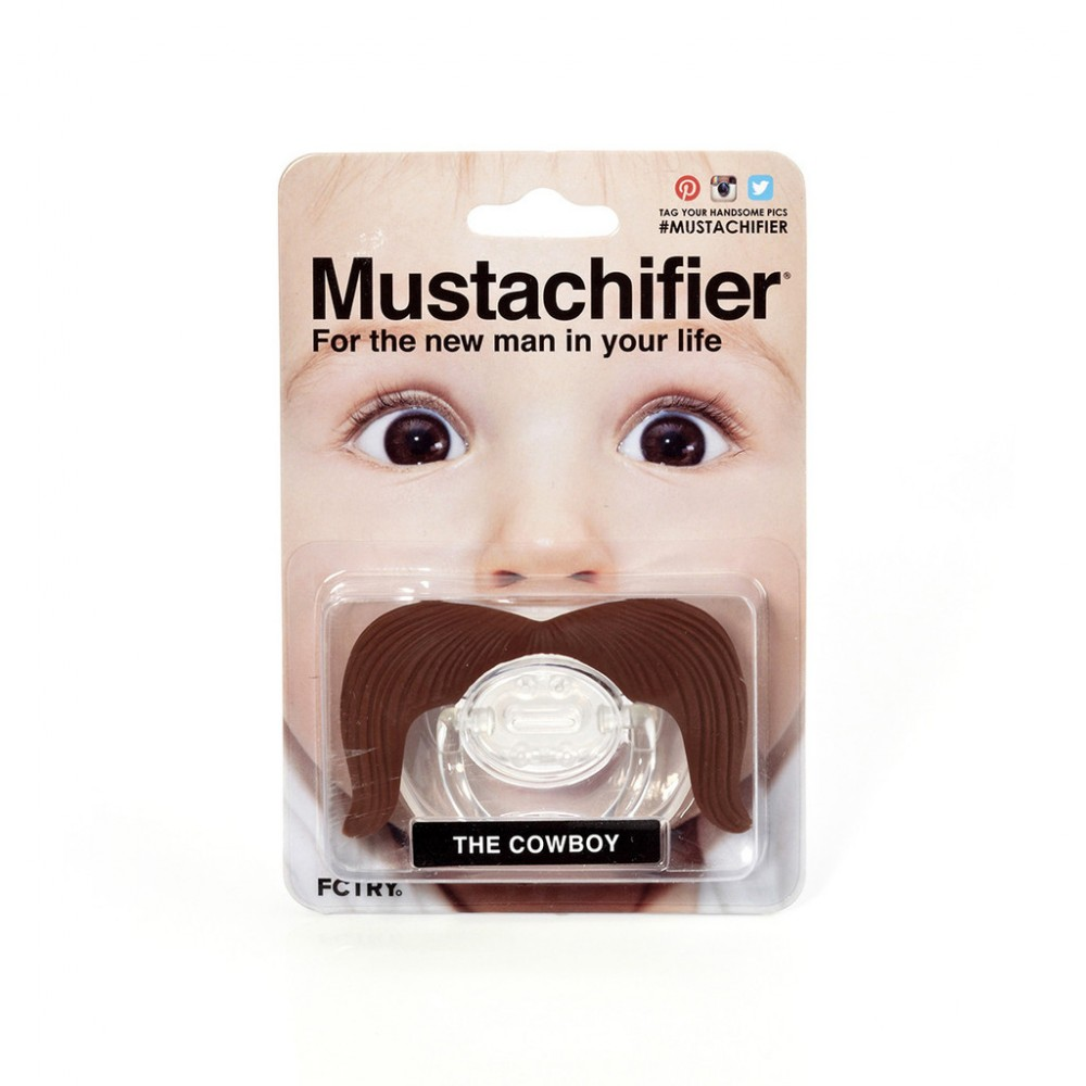 [Little B House] Mustachifier Mustache Pacifier -BP01