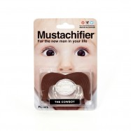 image of [Little B House] Mustachifier Mustache Pacifier -BP01