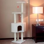 READY STOCK - 140CM Large Luxury Cat Tree Condo Scratcher House (Code: 10B)