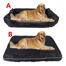 image of READY STOCK - XL Thickness Pet Bed With Removable Mat