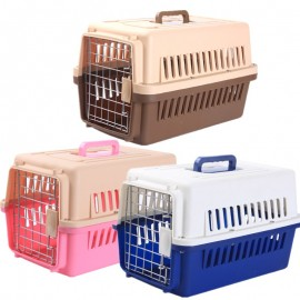 image of READY STOCK Pet Travel Portable Carrier Transport Cage Bag