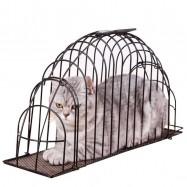 image of Upgraded Version Pet Safety Shower Bath Cage Mandi Kucing