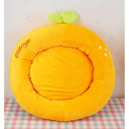 image of Lovely Pet Bed For Cats (Orange)