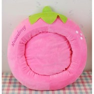 image of Lovely Pet Bed For Cats (Strawberry)