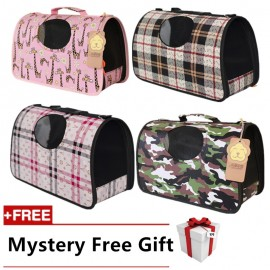 image of READY STOCK - Premium Japanese Oxford Carrier Pet Bag