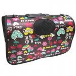 READY STOCK - Premium Oxford Thickness Waterproof Pet Carrier Bag (MEDIUM)