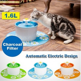 image of READY STOCK - 1.6L Automatic Pet Water Fountain Pet Water Dispenser