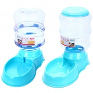 image of READY STOCK - 3.5L Pet Auto Food Feeder And Water Feeder