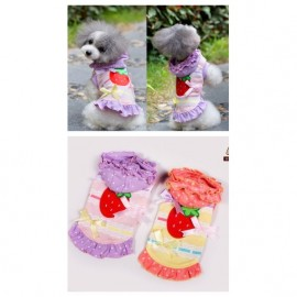 image of Pet Apparel Fancy Strawberry Dress No Ratings Yet