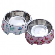 image of READY STOCK - Japanese Stainless Steel Pet Food Bowl