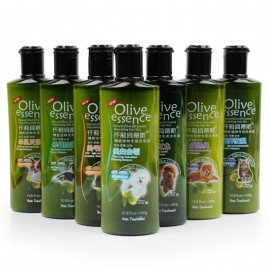 image of READY STOCK - Organic Olive Essence Pet Dog Cat Shampoo Antibacteria (450ML)